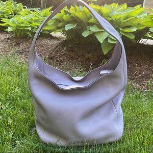 Michael Kors Lena Large Leather Lilac Hobo Bag